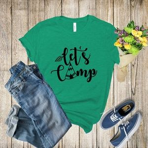 Graphic Tee - Let's Camp